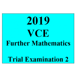 2019 Kilbaha VCE Further Maths Trial Examination 2