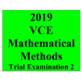 2019 Kilbaha VCE Maths Methods Trial Examination 2