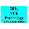 2019 Kilbaha VCE Psychology Trial Examination