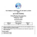 2019 Kilbaha VCE Accounting Trial Examination