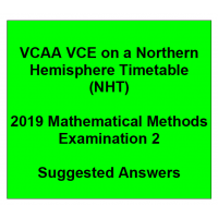 Detailed answers 2019 VCAA VCE NHT Mathematical Methods Examination 2