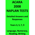 Detailed answers to all 2008 ACARA NAPLAN Tests