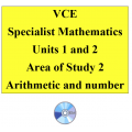 2016 VCE Specialist Mathematics Units 1 and 2 - AOS2 - Arithmetic and number