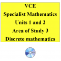 2016 VCE Specialist Mathematics Units 1 and 2 - AOS3 - Discrete Mathematics