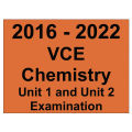 VCE Chemistry Exam Units 1 and 2