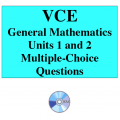 2016 VCE General Mathematics Units 1 and 2 - Multiple Choice