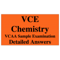 VCE Chemistry - Answers to VCAA Sample Exam