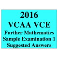 *VCE Further Maths Sample Exam 1 - Detailed Answers
