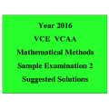 *VCE Maths Methods Sample Exam 2 - Detailed Answers
