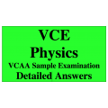 VCE Physics - Answers to VCAA Sample Exam