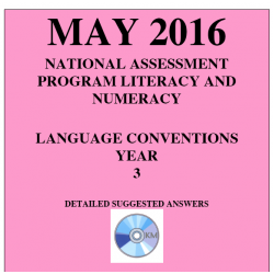 Year 3 May 2016 Language - Answers
