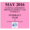 Year 3 May 2016 Numeracy - Answers