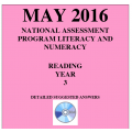 Year 3 May 2016 Reading - Answers