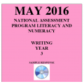 Year 3 May 2016 Writing - Response