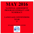 Year 5 May 2016 Language - Answers