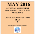 Year 7 May 2016 Language - Answers