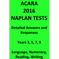 Detailed answers to all 2016 ACARA NAPLAN Tests
