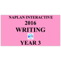 2016 Y3 Writing - Interactive