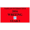 2016 Y5 Writing - Interactive