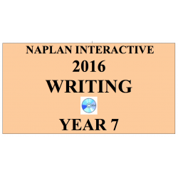 2016 Y7 Writing - Interactive