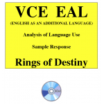 Kilbaha VCE EAL argument and persuasive language