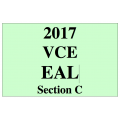 2017 Kilbaha VCE EAL argument and persuasive language