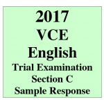 2017 Kilbaha VCE English Units 3 and 4 Trial Exam