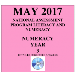 ACARA 2017 NAPLAN Numeracy - Year 3 - Answers