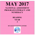 ACARA 2017 NAPLAN Reading - Year 3 - Answers