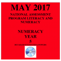 ACARA 2017 NAPLAN Numeracy - Year 5 - Answers