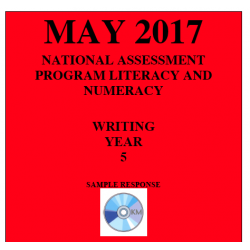 ACARA 2017 NAPLAN Writing - Year 5 - Response