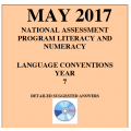 ACARA 2017 NAPLAN Language - Year 7 - Answers