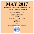 ACARA 2017 NAPLAN Numeracy - Year 7 - Answers