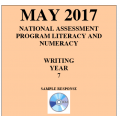 ACARA 2017 NAPLAN Writing - Year 7 - Response