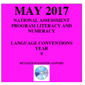 ACARA 2017 NAPLAN Language - Year 9 - Answers