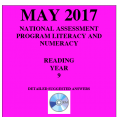 ACARA 2017 NAPLAN Reading - Year 9 - Answers