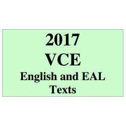 2017 Kilbaha VCE analytical interpretation of a text