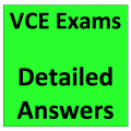 VCE Exams Answers
