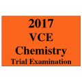 2017 Kilbaha VCE Chemistry Units 3 and 4 Trial Exam