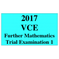 2017 Kilbaha VCE Further Mathematics Units 3 and 4 Trial Exam 1 (VCAA approved technology)