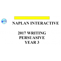 2017 Y3 Writing - Interactive