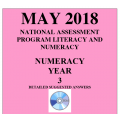 ACARA 2018 NAPLAN Numeracy - Year 3 - Answers