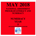 ACARA 2018 NAPLAN Numeracy - Year 5 - Answers