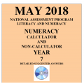 ACARA 2018 NAPLAN Numeracy - Year 7 - Answers