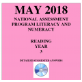 ACARA 2018 NAPLAN Reading - Year 3 - Answers