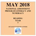 ACARA 2018 NAPLAN Reading - Year 7 - Answers