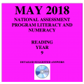 ACARA 2018 NAPLAN Reading - Year 9 - Answers