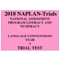 2018 Kilbaha NAPLAN Trial Test Year 3 - Language - Hard Copy