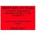 2018 Kilbaha NAPLAN Trial Test Year 5 - Language - Hard Copy