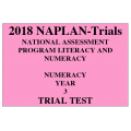 2018 Kilbaha NAPLAN Trial Test Year 3 - Numeracy - Hard Copy